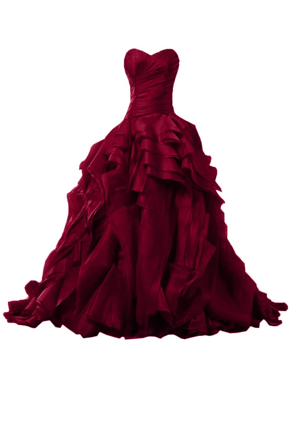 Sunvary luxurious burgundy ball gown quinceanera dresses for prom