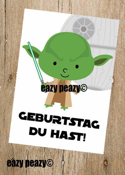 Geburtstag Du Hast Postkarte Von Eazy Peazy Auf