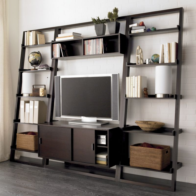 Media And Entertainment Centers City Living Room Home Fall