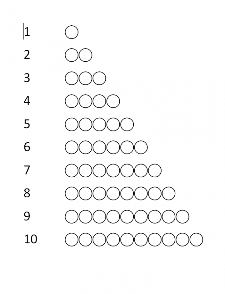 1 10 Counting Step 1 Nurture Kid 39 S Activities Free