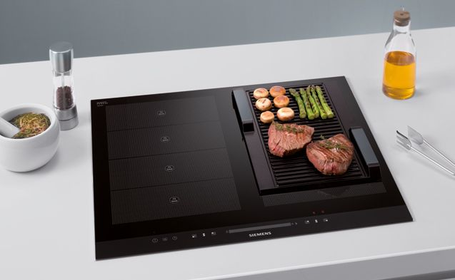 Flex Induction And Griddle Combination From Siemens Flex Induction