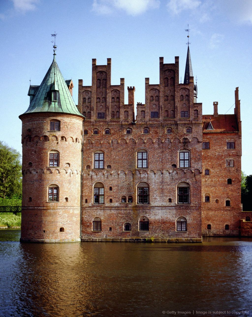 Egeskov Castle in Denmark, I want to go to a castle so badly…
