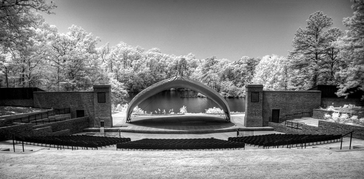 Outdoor theatre at William and Mary Outdoor theater