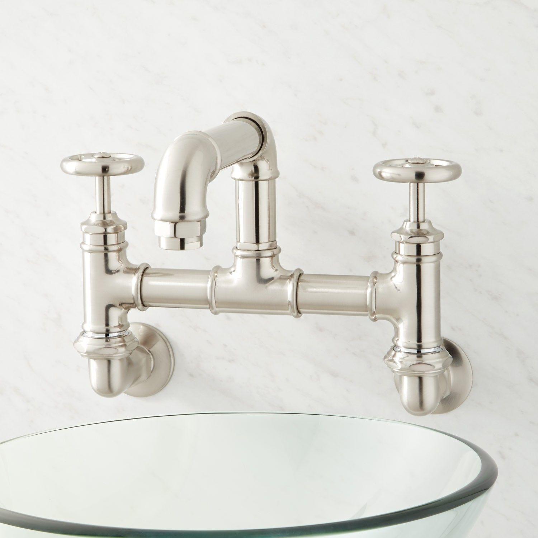 Watts Wall Mount Bridge Bathroom Faucet In 2019