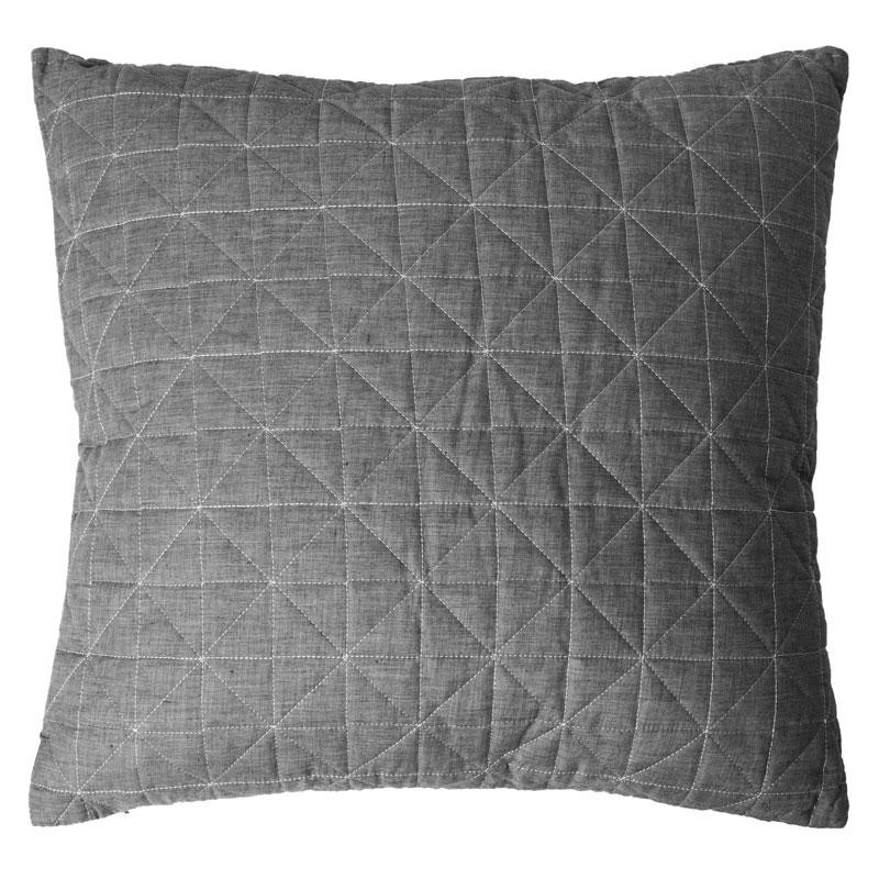 HIRSHOLM Throw Pillow 60x60cm (Grey