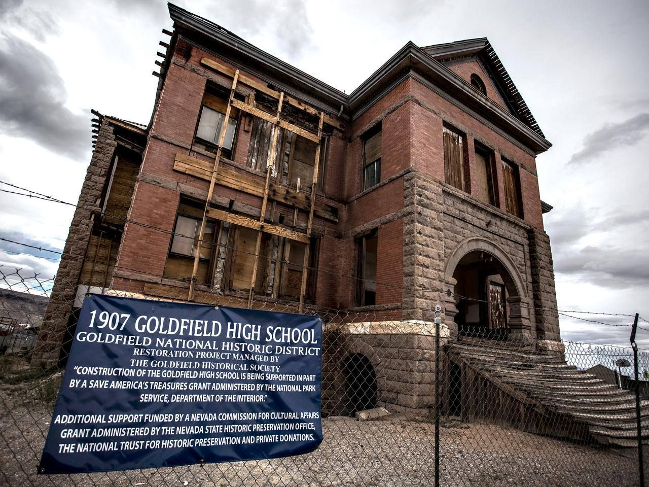 The Historic Goldfield High School Is Haunted
