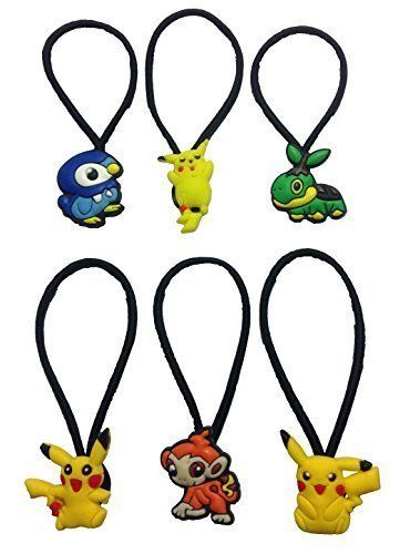 Pokemon Pikachu Hairband Ponytail Holder 6 Pcs Set 1 ** Continue to the product at the image link.Note:It is affiliate link to Amazon.