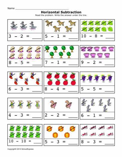 17000 Free Worksheets Kindergarten Subtraction Worksheets Free Math Worksheets Subtraction Activities