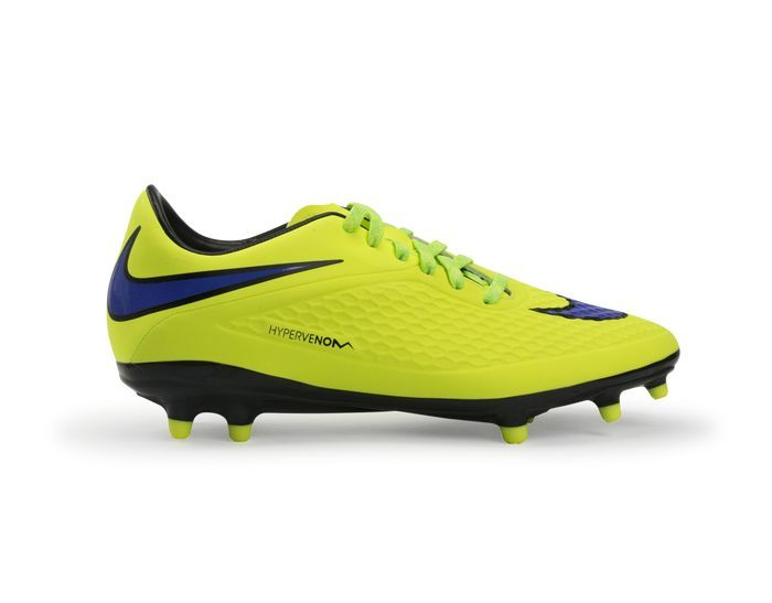 Nike Hypervenom Phelon FG Firm Ground Football Chaussures Volt//Hot Lava//persian Violet