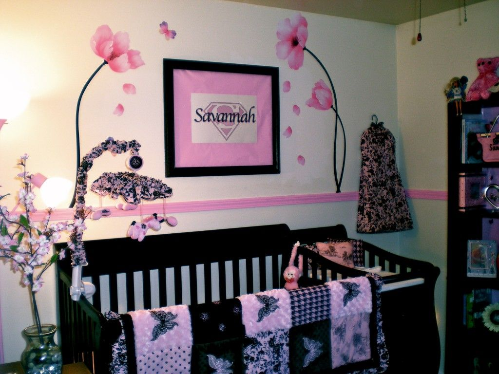 Savannah S Pink Butterfly Nursery Project Nursery Butterfly Nursery Butterfly Nursery Decor Butterfly Crib Bedding