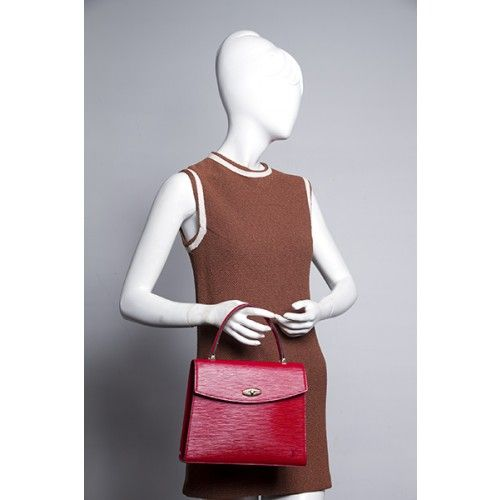 4313c94db63a Louis Vuitton Red Epi Malesherbes Bag - Louis Vuitton - Brands ...