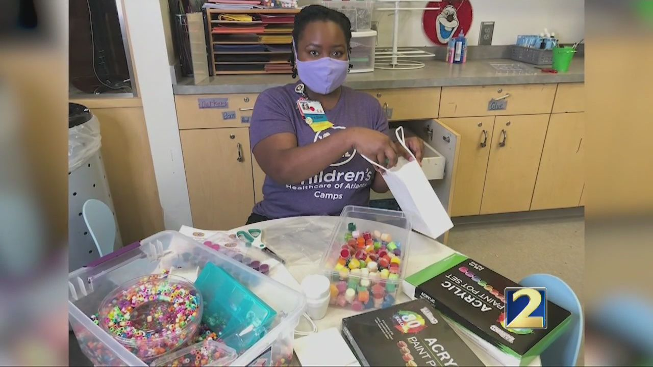 Sager Strong Foundation sends craft kits to patients at
