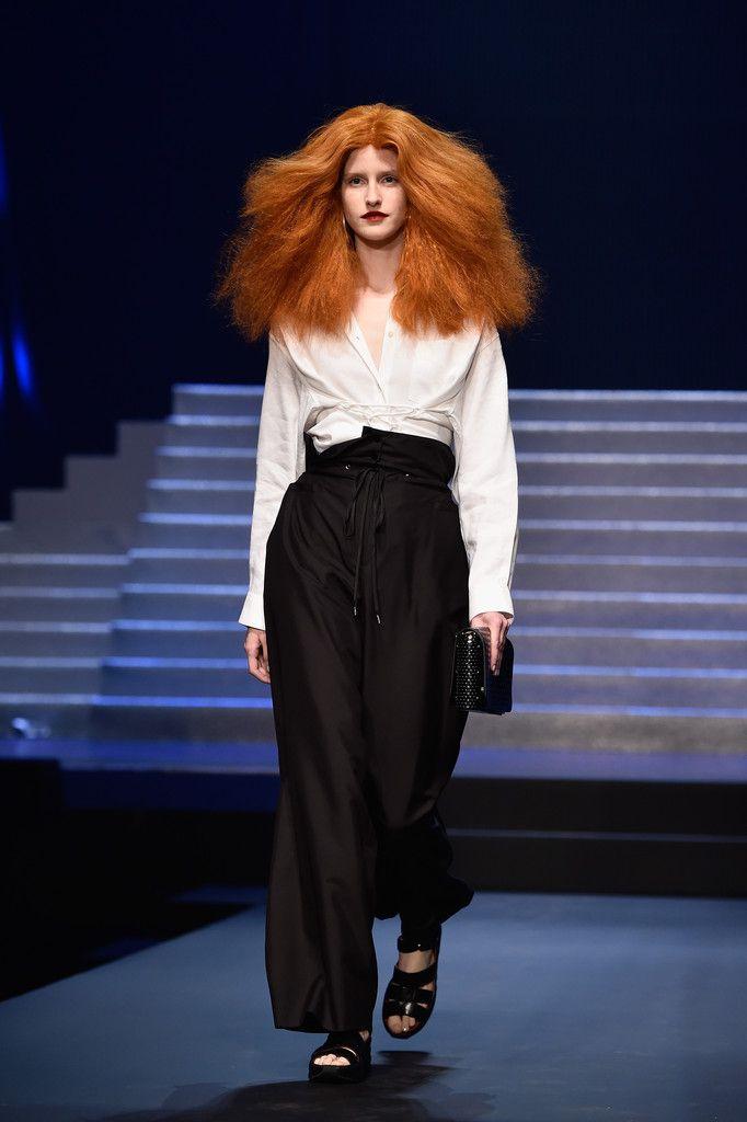 Jean Paul Gaultier : Runway - Paris Fashion Week Womenswear Spring/Summer 2015 - Pictures - Zimbio
