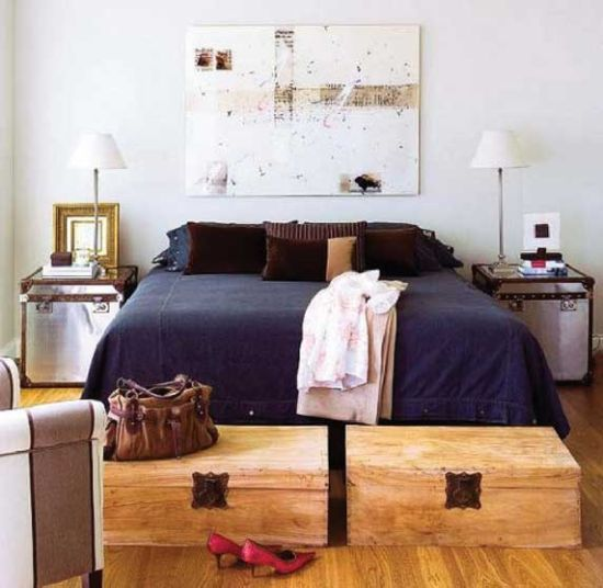 Bedroom Nightstand Ideas Such As The Ones Presented In Todayu0027s Post Will  Show You How Things Like Old Rattan Baskets, Old Chairs, Stools.