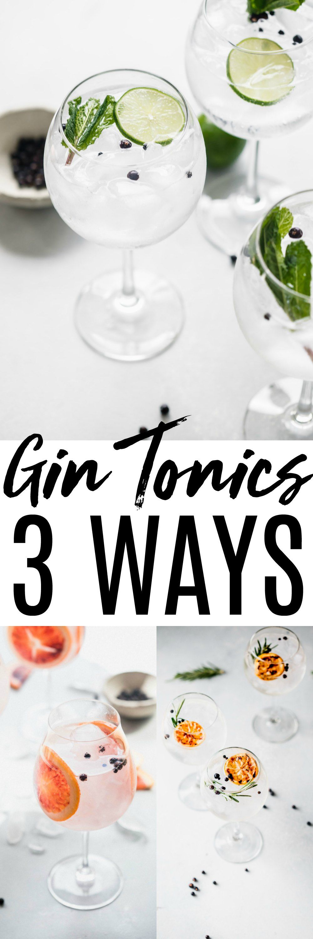 This Gin and Tonic recipe makes perfecting the gin & tonic