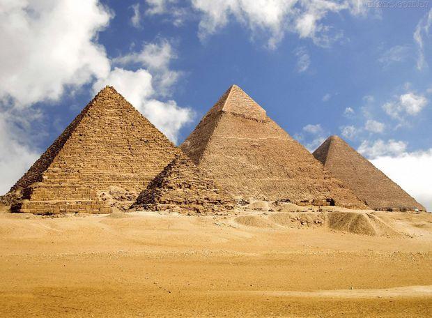 Como Foram Erguidas As Piramides Do Egito Com Imagens Grande
