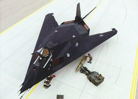 Aviation Gallery :: Military Aircrafts :: F-117 Nighthawk