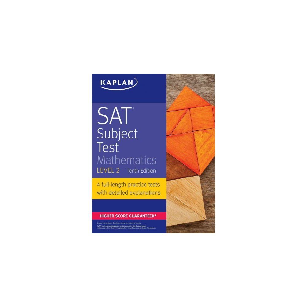 Workbooks kaplan sat math workbook : Kaplan Sat Subject Test Mathematics Level 2 (Paperback) | Products
