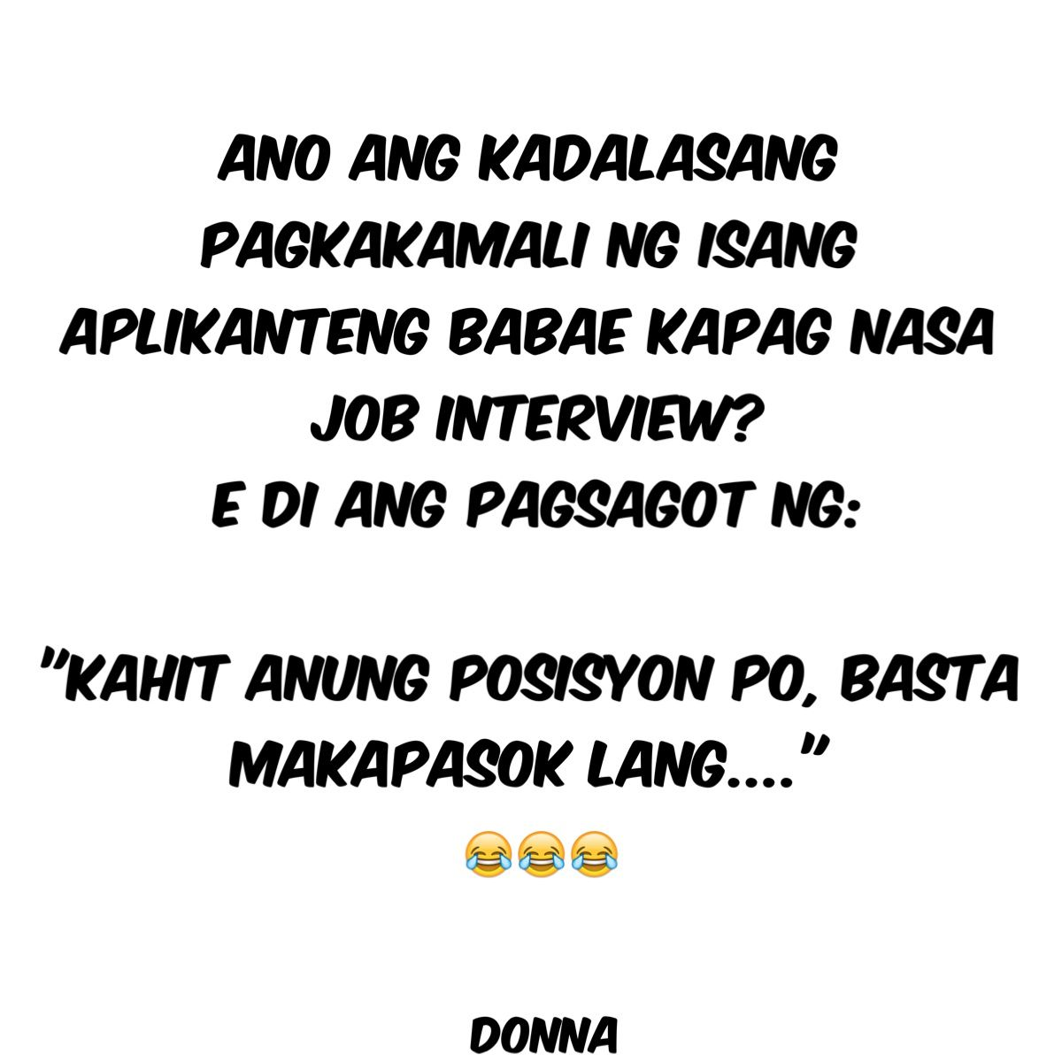 Pin By Jinnefer Rebajo On Jokes Tagalog Quotes Filipino Funny Boy And Girl Best Friends