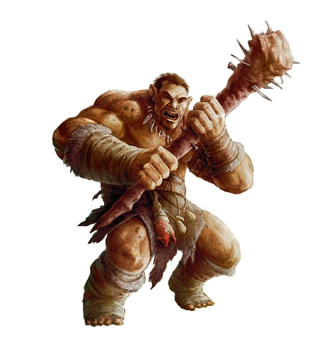 Male Hill Giant With Greatclub Pathfinder Pfrpg Dnd D D D20 Fantasy Fantasy Creatures Art Fantasy Monster Fantasy Creatures