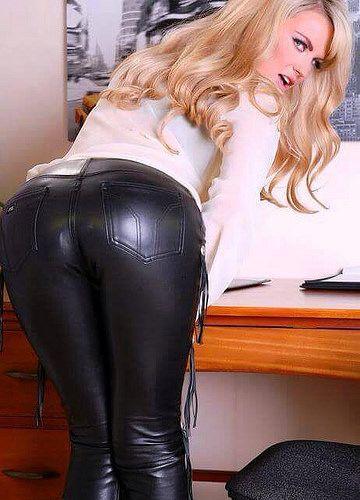 Shinny panties on asses