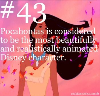 What are some facts about Pocahontas?