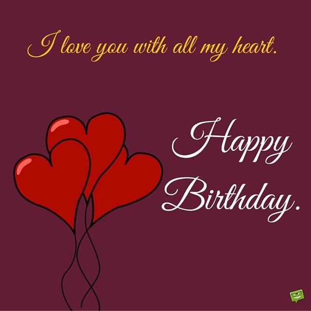 Happy birthday to my husband happy birthday birthdays and happy birthday card to husband with illustration of heart balloons bookmarktalkfo Choice Image