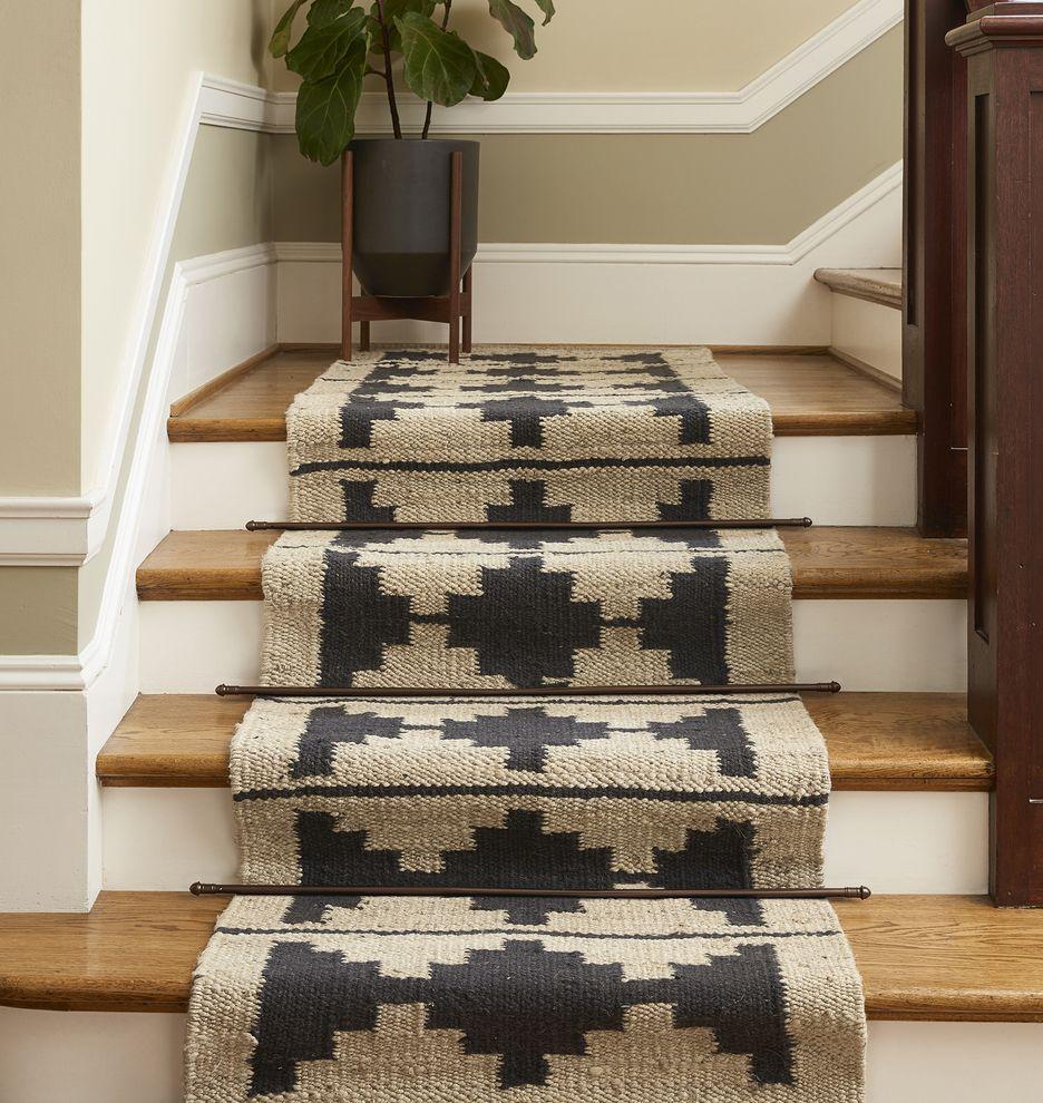 NEW Bowen Jute & Wool Rug 2.5' x 9' + @modernica planter
