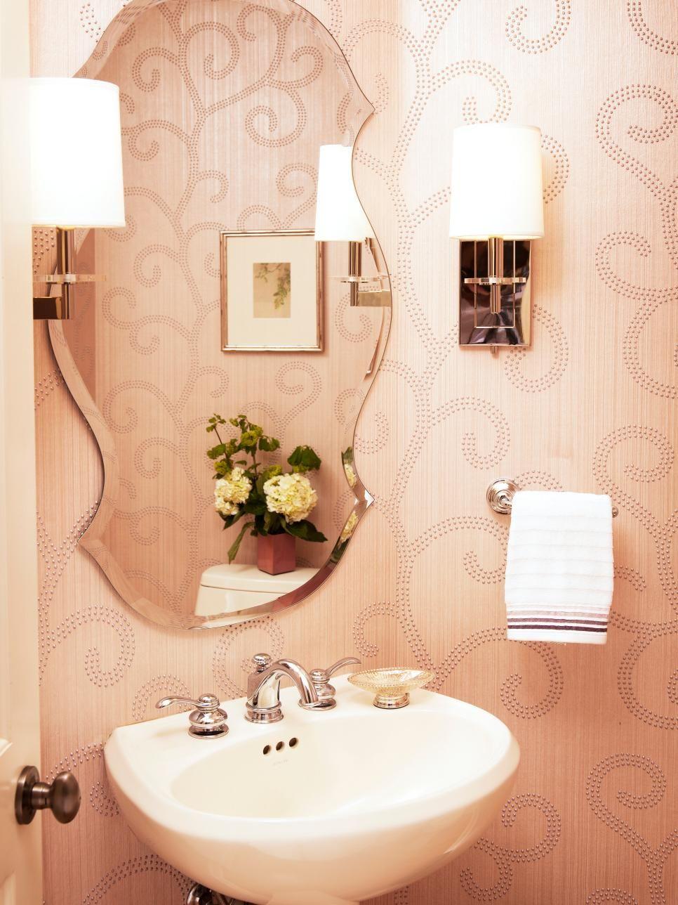 Accesorios De Baño Originales | Glamorous Powder Room Bathroom Pinterest
