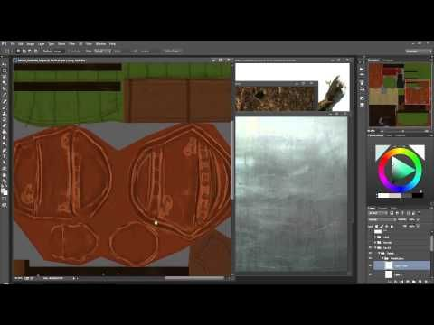 S6 27 Traditional Texturing Details - YouTube