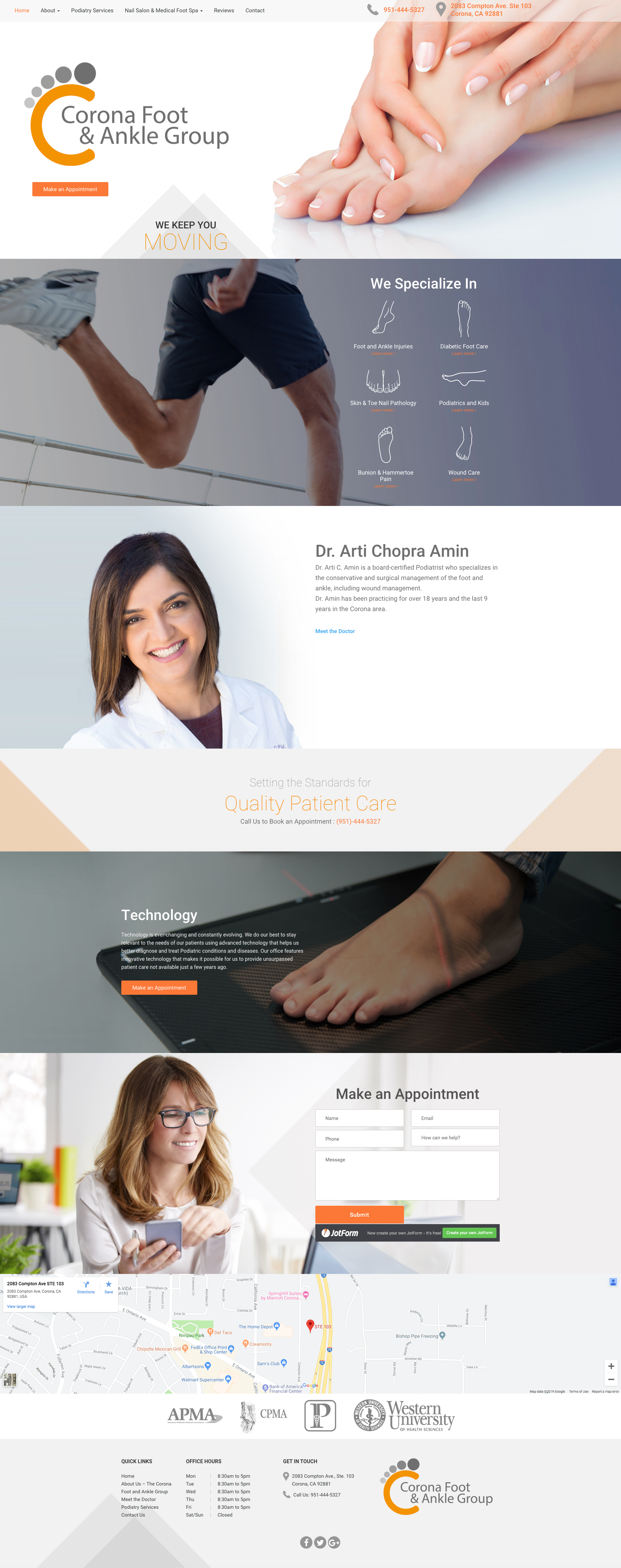Corona Foot Ankle Specialist