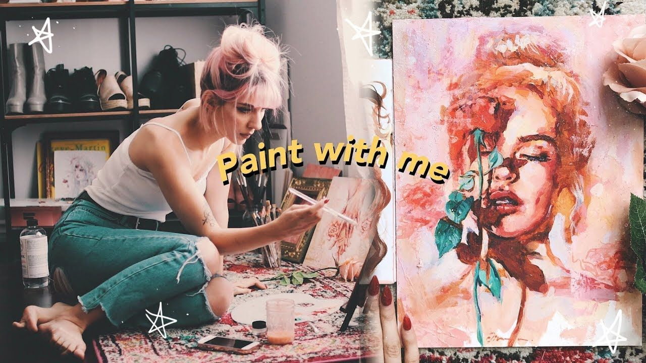 Paint With Me English Jim Reno Youtube Painting Peace
