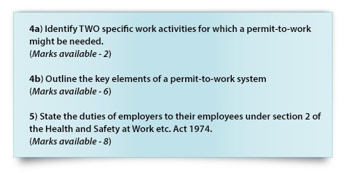 Workplace Safety Essay RoSPAs Guide To NEBOSH Past Papers Part 3