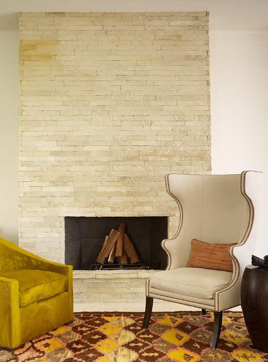 Slate tiled chimney breast for the home pinterest for Tiled chimney breast images