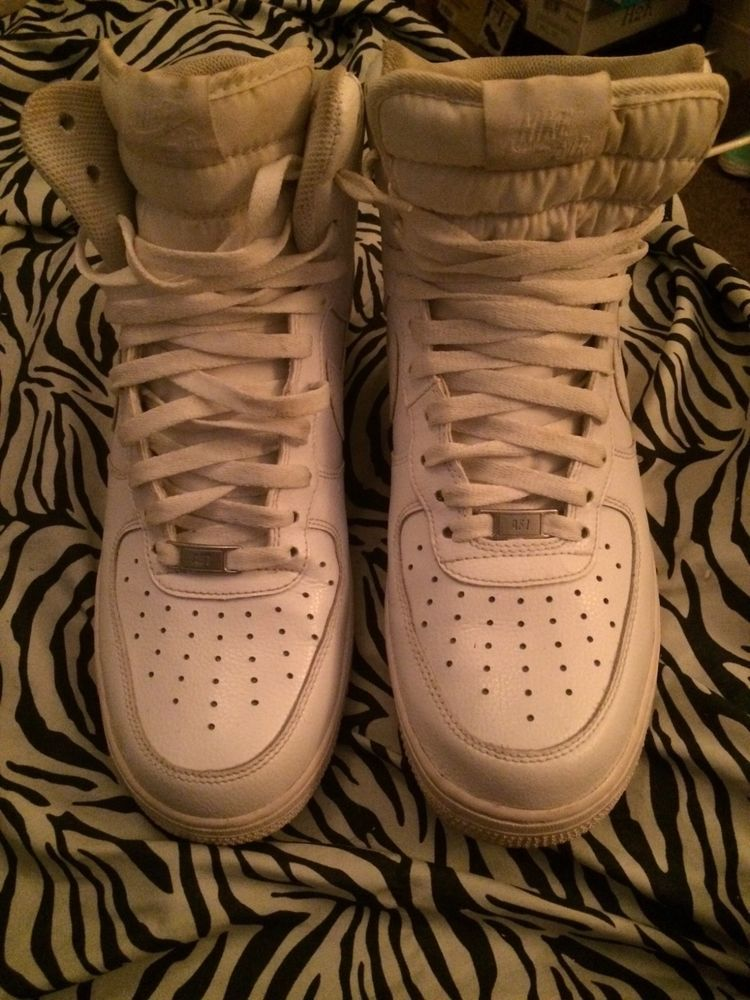 9a682898dcf1 All White sneakers Air force 1 hightops size men 11  fashion  clothing   shoes