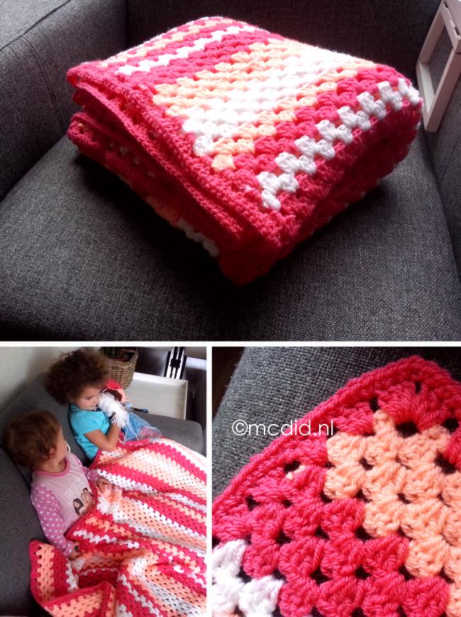 Crochet Granny Stripes Blanket Deken Haken I Need Translation I