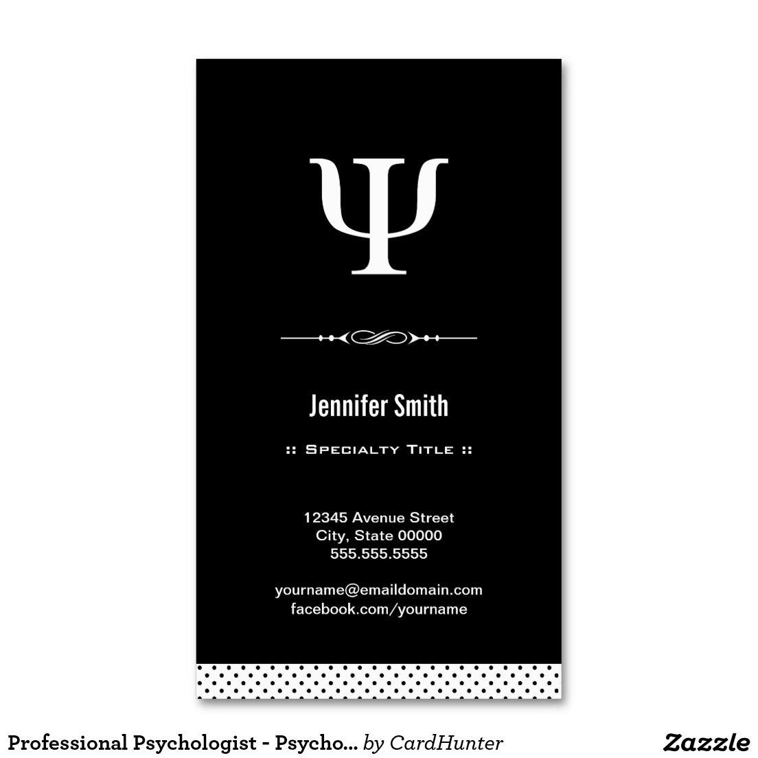 Professional Psychologist - Psychology Psi Symbol Double-Sided ...