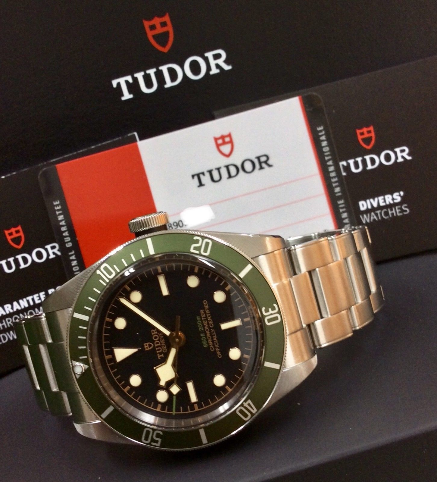 b1d5dbbed56 Tudor Black Bay Harrods Edition- 79230G Beat the 3 year waiting list!  STUNNING