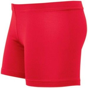 High Five Womens Spike Low Rise Polyester-Spandex Scarlet Volleyball Shorts by High Five   #VolleyballEquipment