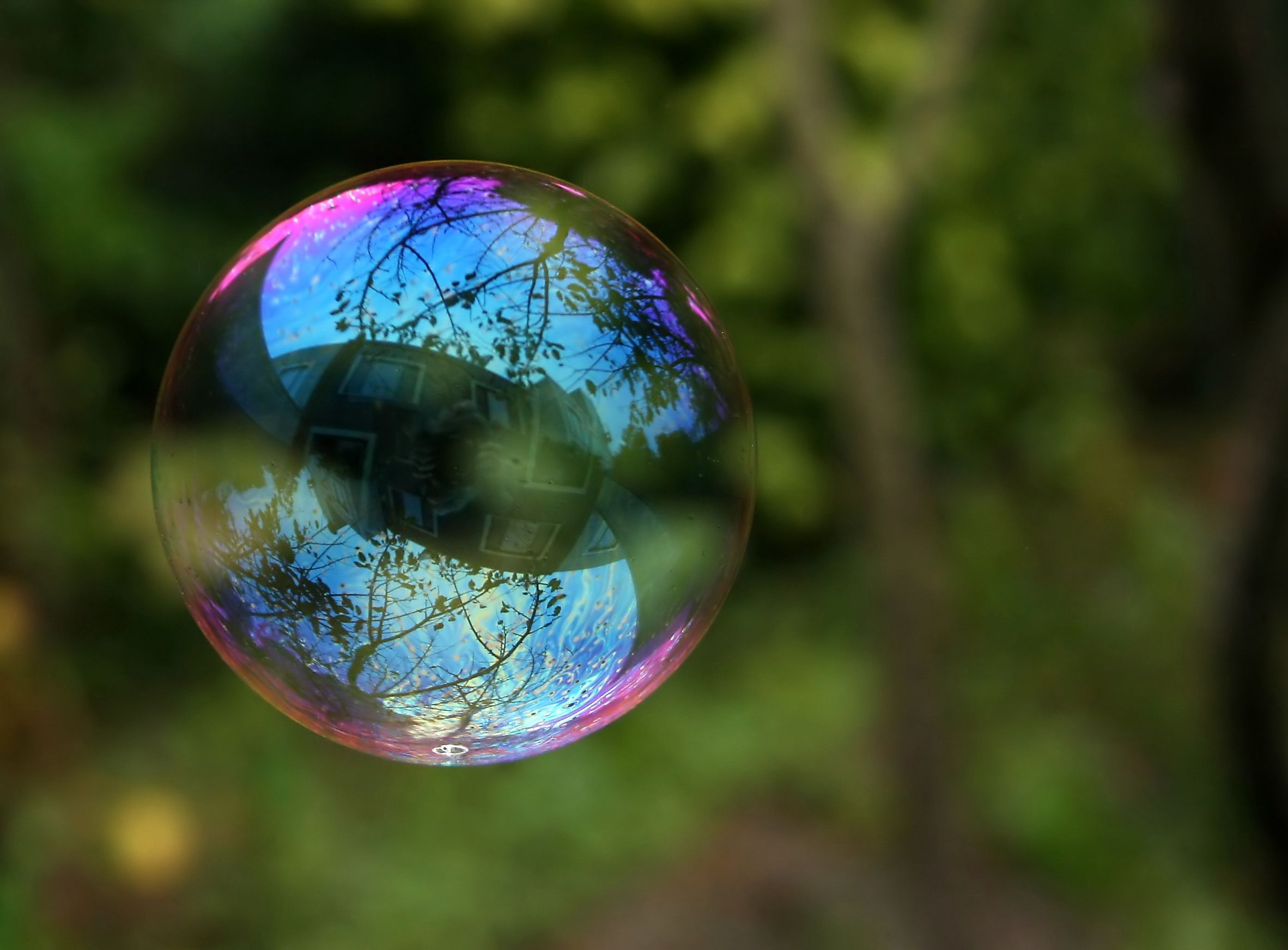Clearing up my agenda… so I can create Homemade bubbles