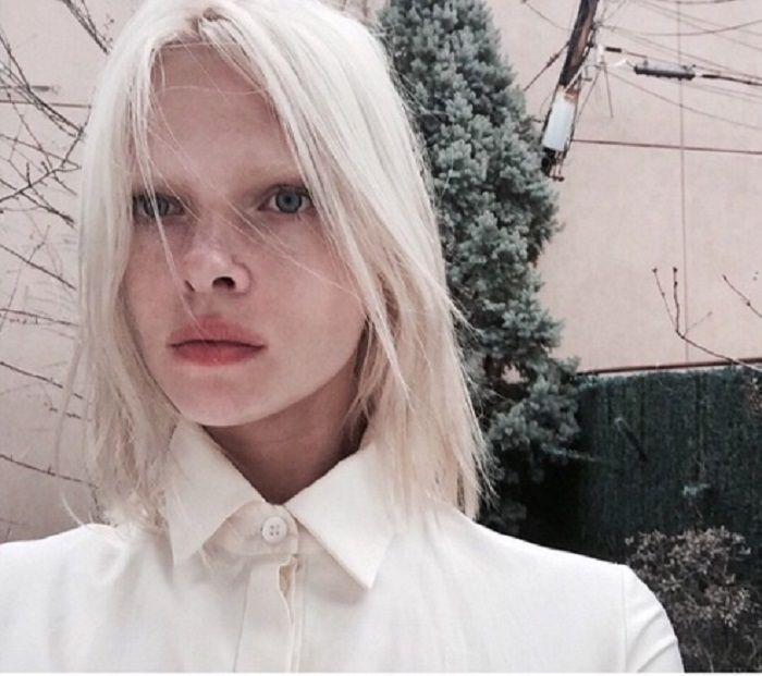 Модели альбиносы таня островская