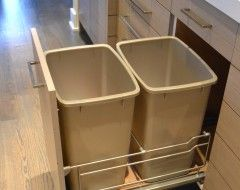 Trash Recycle Bins Eclectic Kitchen Kitchen Remodel Small Ikea Kitchen