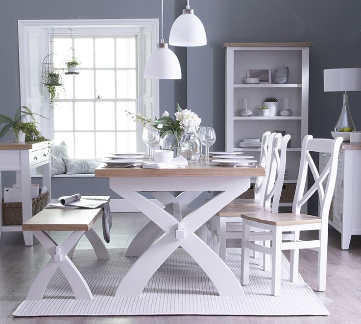 Toronto Cross Legged extending table ...dining room set | Toronto ...