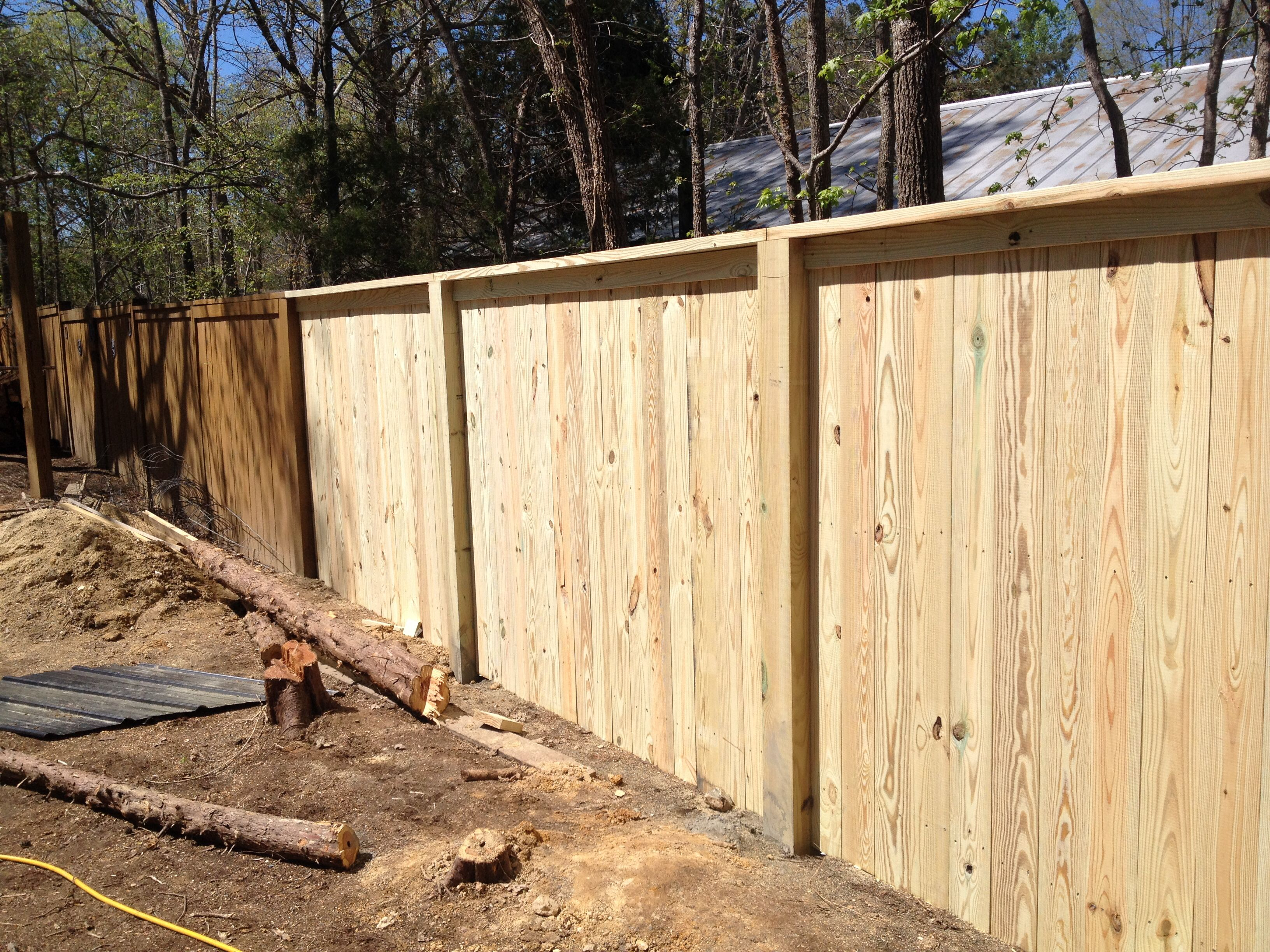 Top Notch Fence With A Beautiful Cannonball Addition Fencing Companies Fence Fence Contractor