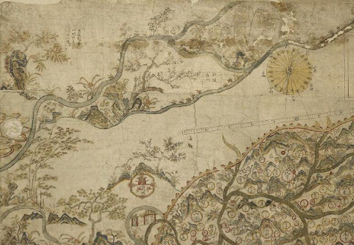 selden map of china Selden Map Of China World S Oldest Surviving Merchant Map