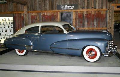 1947 Cadillac Series 62 Sedanette Fastback
