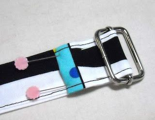 Sid's In Stitches: How to Make an Adjustable Strap