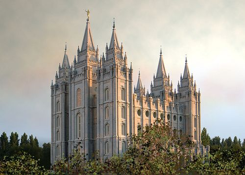 Salt Lake Utah Temple, Color  - Find the latest news about bible prophecy and how it is being fulfilled today. Find out why many say we are in the last days. Check out  Prophecy News Report at  http://www.prophecynewsreport.com/prophecy_news_report/prophecy_1/sign_of_the_times/jesus_christ/salt-lake-utah-temple-color.html.