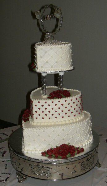 Red Cakes Pinterest
