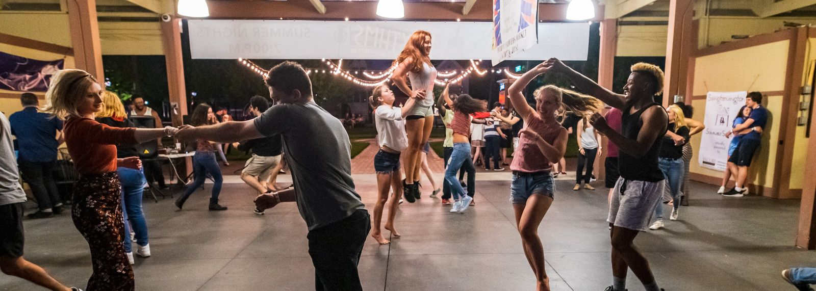 How Downtown Farmington Got Its Swing Farmington Swing Dancing Swingers